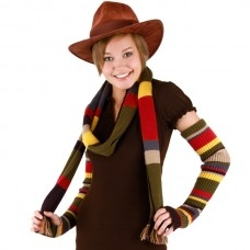 4th Doctor Scarf 6'