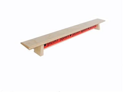 Filthy Fingerboard Ramps - Big Johnson Style Bench