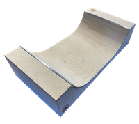 halfpipe wood Fingerboard Ramp