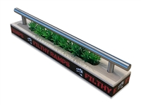 Filthy Fingerboard Ramps Skinny Planter Rail