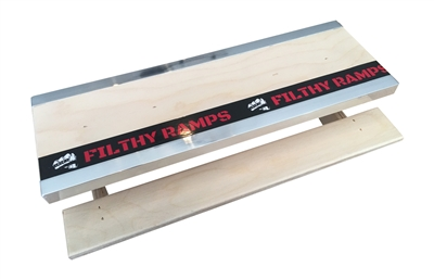 fingerboarding Filthy ramps crenshaw slab blue