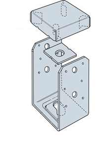 Simpson Strong-Tie ABU46Z 4 X 6 Adjustable Post Base ZMAX