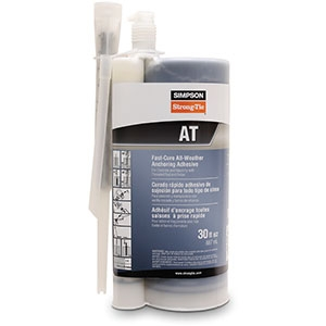 Simpson Strong-Tie AT30 Acrylic-Tie Anchor Adhesive