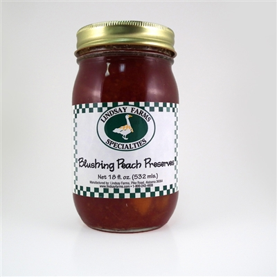 Blushing Peach Preserves
