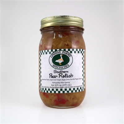 Southern Pear Relish