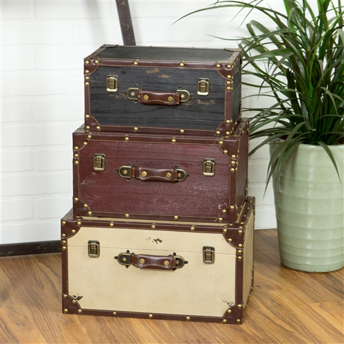 3279 - Torrance Wood Trunks (Set of 3)