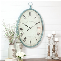 4103 - Sonia Oval Wall Clock