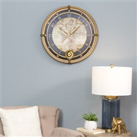 4226 - Ramona Old Map Wall Clock