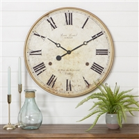 4783 - Leniel Large Wall Clock
