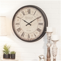 4820 - Layla Round Wall Clock
