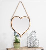 5483 - Kiera Heart Wall Mirror