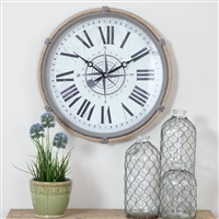5490 - Seabrook Nautical Wall Clock