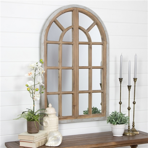 5612 - Athena Farmhouse Arch Wall Mirror