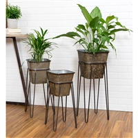 5803 - Onslow Farmhouse Planters (Set of 3)