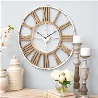 5933 - Janelle Farmhouse Wall Clock