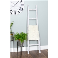 6008 - Dora 5 ft Decorative Ladder - White Finish