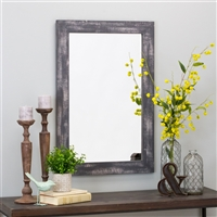 6053 - Morris Wall Mirror - Gray 36 x 24