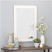 6060 - Morris Wall Mirror - White 36 x 24