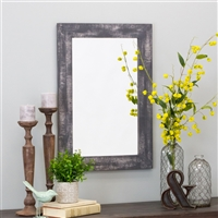 6084 - Morris Wall Mirror - Gray 30 x 20