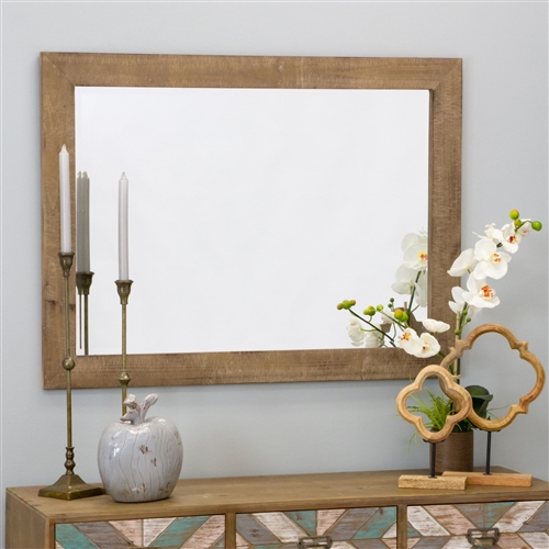6107 - Morris Wall Mirror - Nutmeg 40 x 30