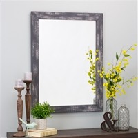 6114 - Morris Wall Mirror - Gray 40 x 30