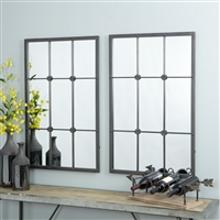 6350 - Kinslee Window Pane Wall Mirror
