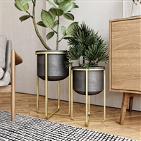 6381 - Rizzy Mid Century Planters (Set of 2)
