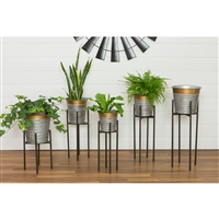 6411 - Epperton Modern Farmhouse Planters (Set of 5)