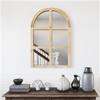 6695 - Matherne Farmhouse Arch Wall Mirror