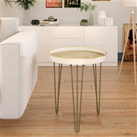 6893 - Tenika Metal Accent Table