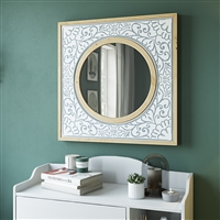 6947 - Daria Square Wall Mirror