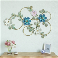6985 - Kamea Metal Flower Wall Decor