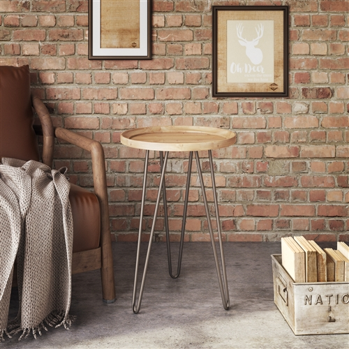 7074 - Alper Round Accent Table