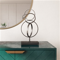7104 - Keya Abstract Metal Sculpture