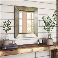7111 - Glenan Farmhouse Wall Mirror