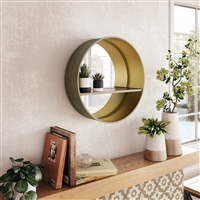7135 - Holden Mirror with Shelf