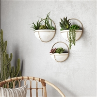 7159 - Isley Modern Wall Planters (Set of 3)