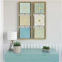7180 - Camber Modern Metal Wall Decor (Set of 2)