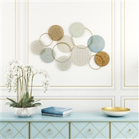 7227 - Orly Abstract Metal Wall Decor