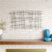 7234 - Arden Modern Metal Wall Decor