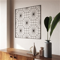 7258 - Kieve Modern Metal Wall Decor