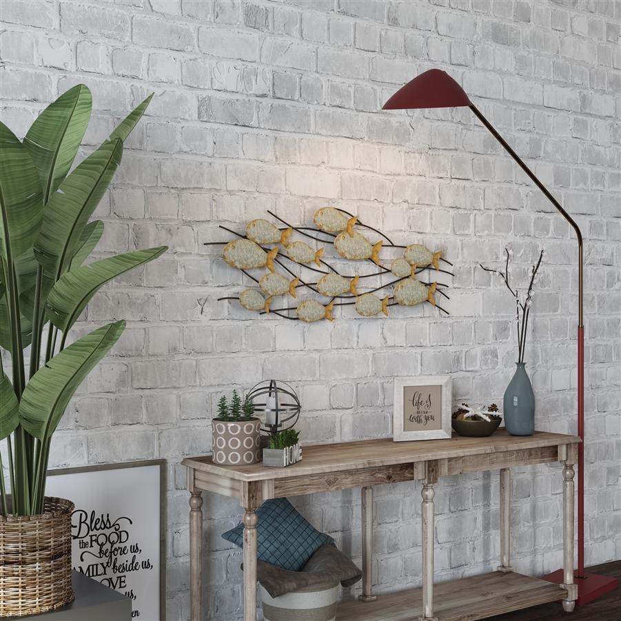 metal fish art wall decor.htm 7265 carlen metal fish wall decor  7265 carlen metal fish wall decor