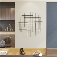 7272 - Arwen Modern Metal Wall Decor
