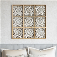 7302 - Sproule Large Wood Wall Decor