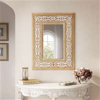 7425 - Maris Wood Wall Mirror