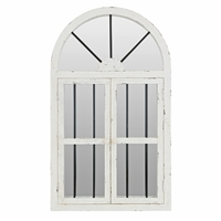"74397 - 42"" Arched Window Wall Mirror"