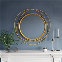 7449 - Mia Round Wall Mirror