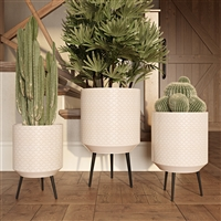 8026 - Avery Modern Planters (Set of 3)