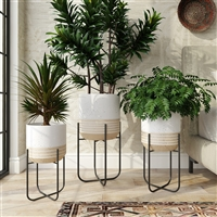 8057 - Bodhi Modern Planters (Set of 3)