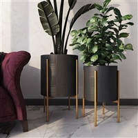 8132 - Hendrix Modern Planters (Set of 2)